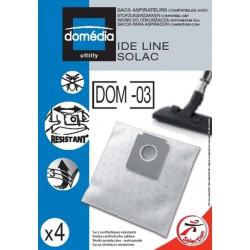 Domedia Sac Aspirateur Dom03