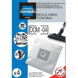 Domedia Sac Aspirateur Dom04