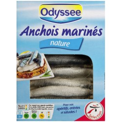 Odyssee Anchois Nature 150G