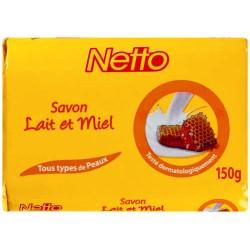Netto Savon Miel Et Lait 150G