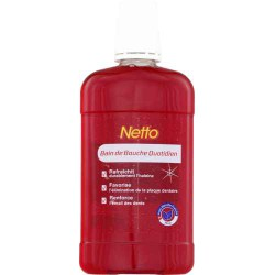 Netto Eau Dentaire Rouge 500Ml