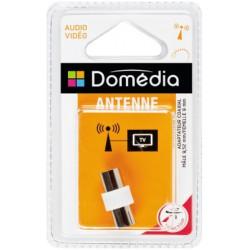 Dom Adapt Coaxial 9.52Mm M/ F