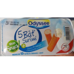 Odyssee 5 Bat Surimi Snack100G