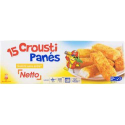 Netto Bat. Poiss. Pane 15X30G