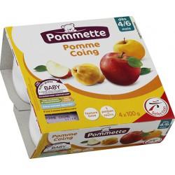 Pommet Pot Frt Pm/Coing 4X100G