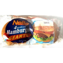 Netto 4 Hamburger 330G
