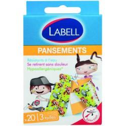 Labell Pansements Enfants X20