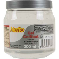 Netto Gel Coif.Extreme Pot300M
