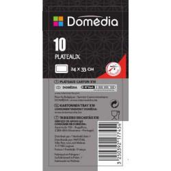 Dom Plateau 24X33 X10 Blc