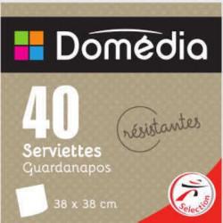 Dom Serv 40Cm X20 Ivoire