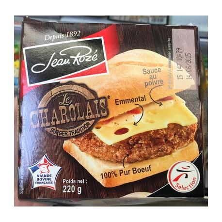 Jroze Burger Charolais 220G