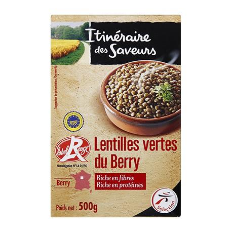 Ids Lentilles Vertes Berry500G