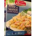 Ranou Penne Saumon Epinard280G