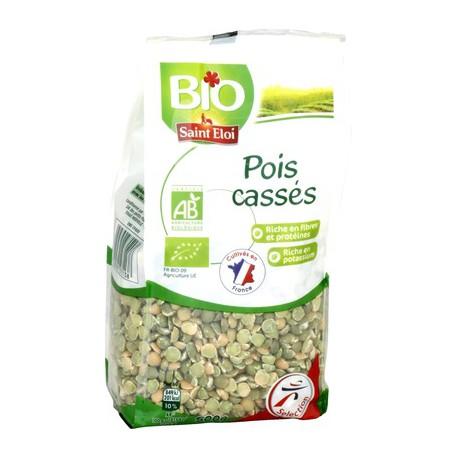 Saint Eloi Pois Casses Bio 500G