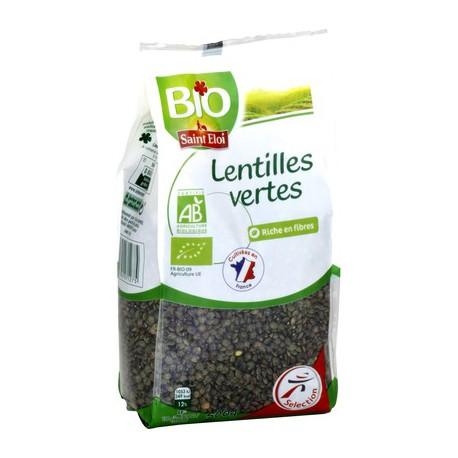 Saint Eloi Lentille Verte Bio500G