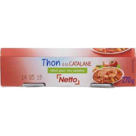 Netto Thon Catalane 2X135G