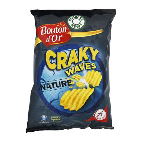 B.Or.Chips Cracky Waves 120G