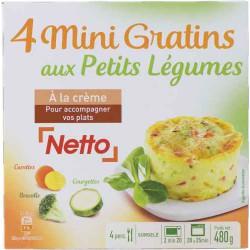 Netto Mini Gratin Legumx4 480G