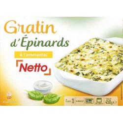Netto Gratin D Epinards 450G