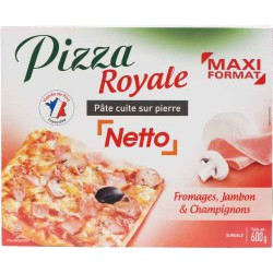 Netto Pizza Dipier Royale 600G