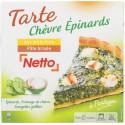 Netto Tarte Chevre/Epinar 400G