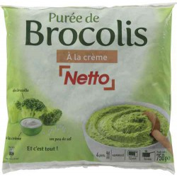 Netto Puree Brocolis 750G
