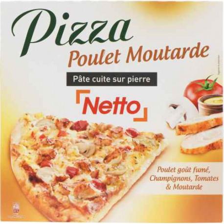 Netto Pizza Poulet/Mout. 400G