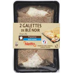 Netto Galette Paysanne X2 300G
