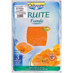 Odyssee Truite Fumee 120G
