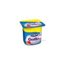 Danone Gratka – Strawberry Yogurt Gratka 115G