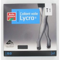 Col.Voil.Lycra Noir T3 Bf