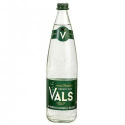 Eau Minérale Naturelle Gazeuse Vals La Bouteille Verre 75Cl