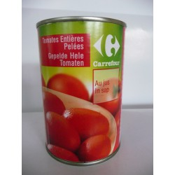 1/2 Tomates Ent.Pelees Crf