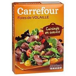 300G Foie Volaille Confit Crf