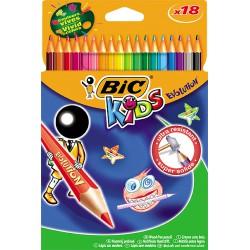 Kid Crayons Coul X18 En Resine