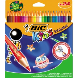 Bic 24 Cray.Couleur Evolut.