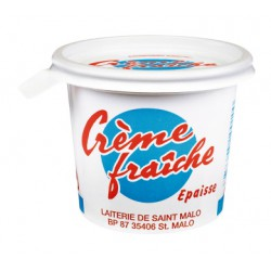 10Cl Creme Fraiche Epaisse Laiterie De Saint Malo