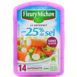 230G 14 Batonnets Surimi -25% Sel Fleury Michon