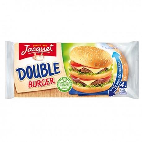 Pain Double Burger X4Jacq