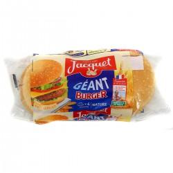 330G 4 Hamburgers Geants Jacquet