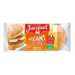 300G 4 Geant Burger Brioche Jacquet