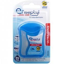 Efiseptyl Fil Interdentaire Ultra Doux La Boite De 25M