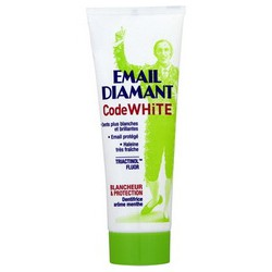Email Diamant Dent. Code White Arome Menthe Tube75Ml