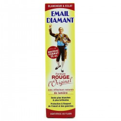 Tube Dentifrice Email Dia -Mant Rouge 75Ml