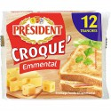 President Croque Emmental 12 Tranches 200G
