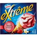 720Ml 6 Cornets Extreme Fraise Nestle