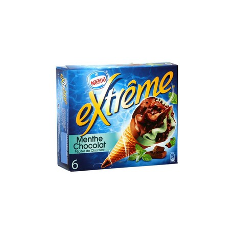 720Ml 6 Cornets Extreme Menthe/Chocolat Nestle