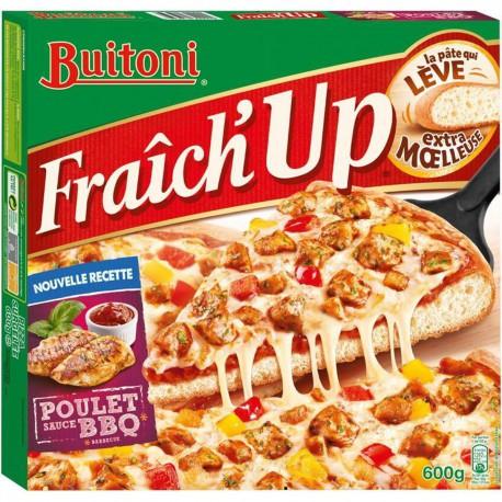 Buitoni Pizza Fraiche Up Poulet Barbec 600G