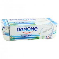 Danone Yaourt Nature 8X125G