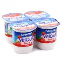 Dan.Veloute Fruix Fraise4X125G